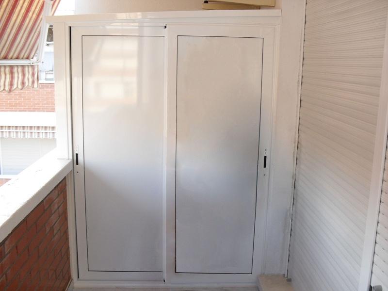 puertas correderas de aluminio para armarios materiales